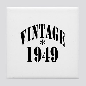 1949 Tile Coaster