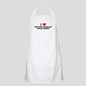 I Love Kentucky Mountain Sadd BBQ Apron