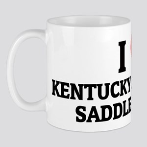 I Love Kentucky Mountain Sadd Mug