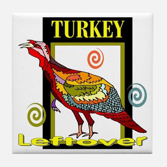 Turkey Leftover Tile Coaster