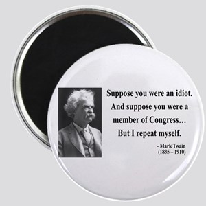 Mark Twain 15 Magnet