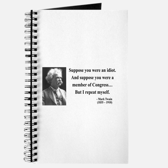 Mark Twain 15 Journal