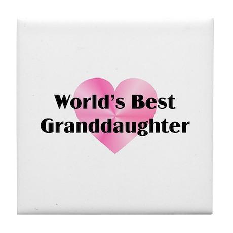 WB Granddaughter Tile Coaster