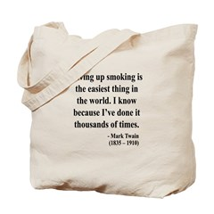 Mark Twain 28 Tote Bag