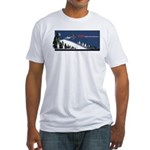 Bring Your Own Balls Snowmobiler Fitted T-Shirt