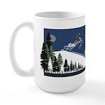 Bring Your Own Balls Snowmobiler Large Mug
