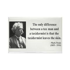 Mark Twain 38 Rectangle Magnet (10 pack)
