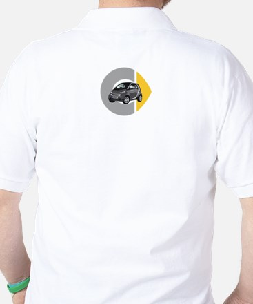 What's Your Color? Gray Smart Car Golf Shirt