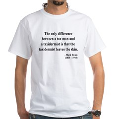 Mark Twain 38 White T-Shirt