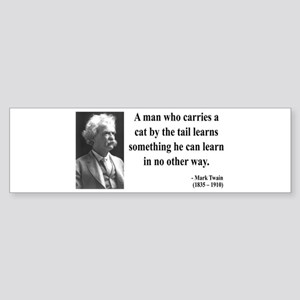 Mark Twain 34 Bumper Sticker