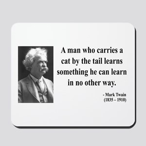 Mark Twain 34 Mousepad