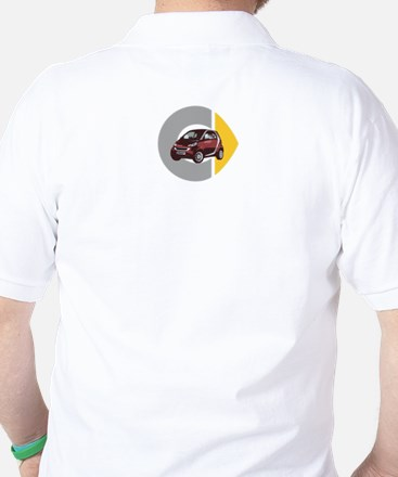 What's Your Color? Red Smart Car Golf Shirt