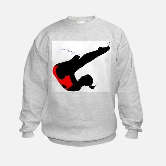 Girl's Diving Sweatshirt