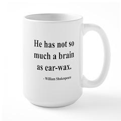 Shakespeare 25 Large Mug