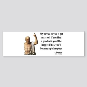 Socrates 14 Bumper Sticker