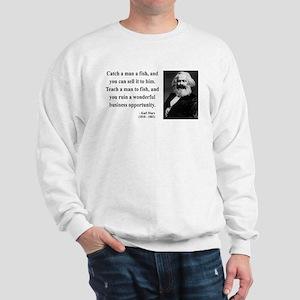 Karl Marx 4 Sweatshirt