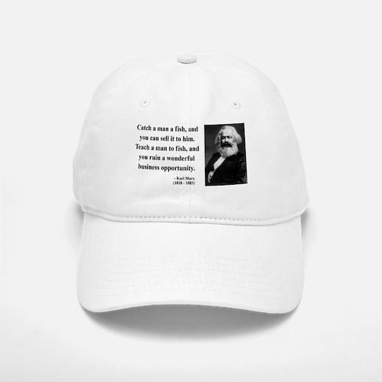 Karl Marx 4 Baseball Baseball Cap