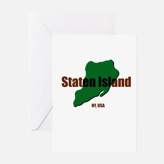 Cute Staten island Greeting Cards (Pk of 10)