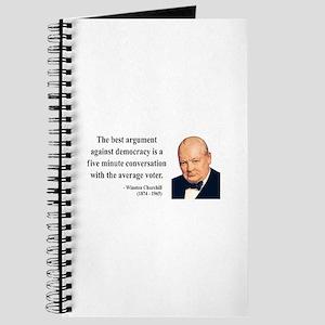 Winston Churchill 2 Journal