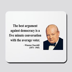 Winston Churchill 2 Mousepad