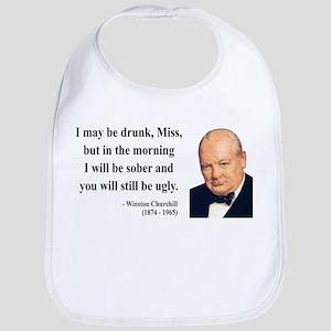 Winston Churchill 13 Bib