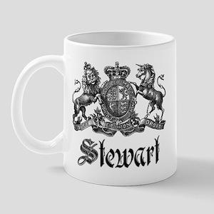 Stewart Vintage Crest Family Name Mug