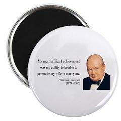 Winston Churchill 15 Magnet