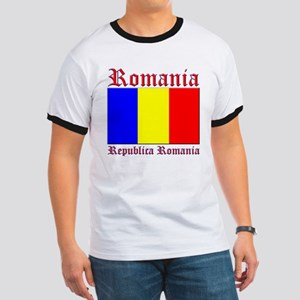 Romania Flag Republica Romani Ringer T