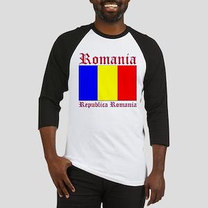 Romania Flag Republica Romani Baseball Jersey