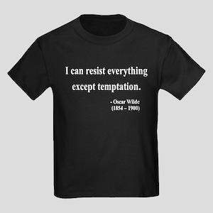 Oscar Wilde 2 Kids Dark T-Shirt
