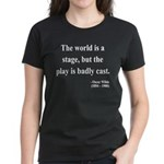 Oscar Wilde 5 Women's Dark T-Shirt