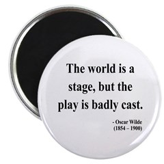 "Oscar Wilde 5 2.25"" Magnet (100 pack)"
