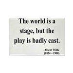 Oscar Wilde 5 Rectangle Magnet (10 pack)