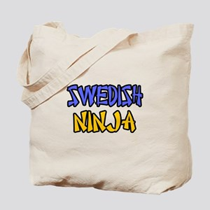"""Swedish Ninja"" Tote Bag"