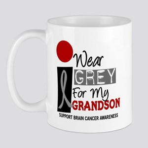 I Wear Grey For My Grandson 9 Mug