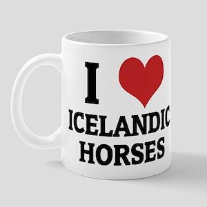 I Love Icelandic Horses Mug