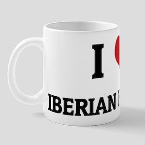 I Love Iberian Horses Mug