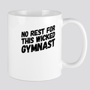 No Rest For This Wicked Gymnast Athlete Gift Mugs