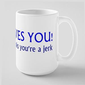 Jesus Loves - Large Mug
