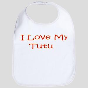I Love My Tutu Bib