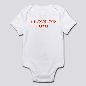 I Love My Tutu Infant Bodysuit