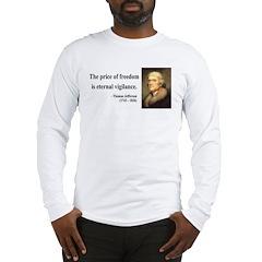 Thomas Jefferson 2 Long Sleeve T-Shirt