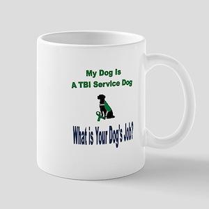I'm a TBI service dog Mugs