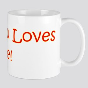 My Tutu Loves Me Mug