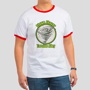 Storm Chaser Logo Ringer T