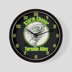 Storm Chaser Logo Wall Clock