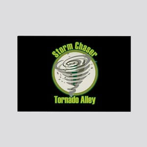 Storm Chaser Logo Rectangle Magnet