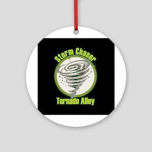 Storm Chaser Logo Ornament (Round)