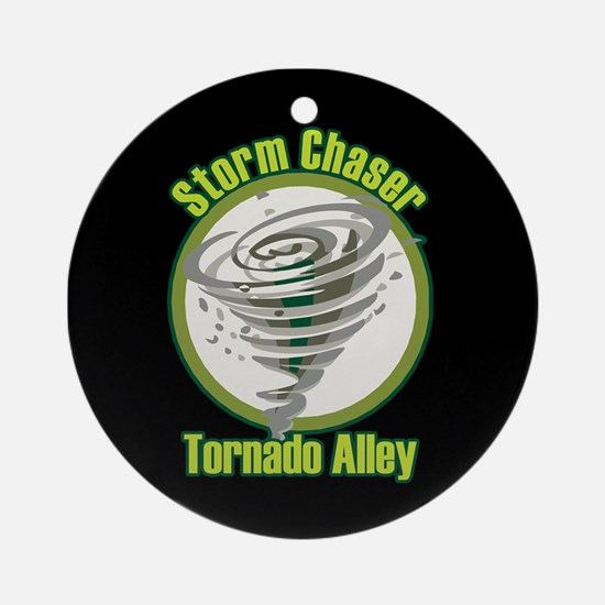 Storm Chaser Logo Ornament (Round)