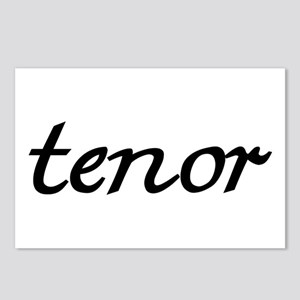 Tenor Postcards (Package of 8)